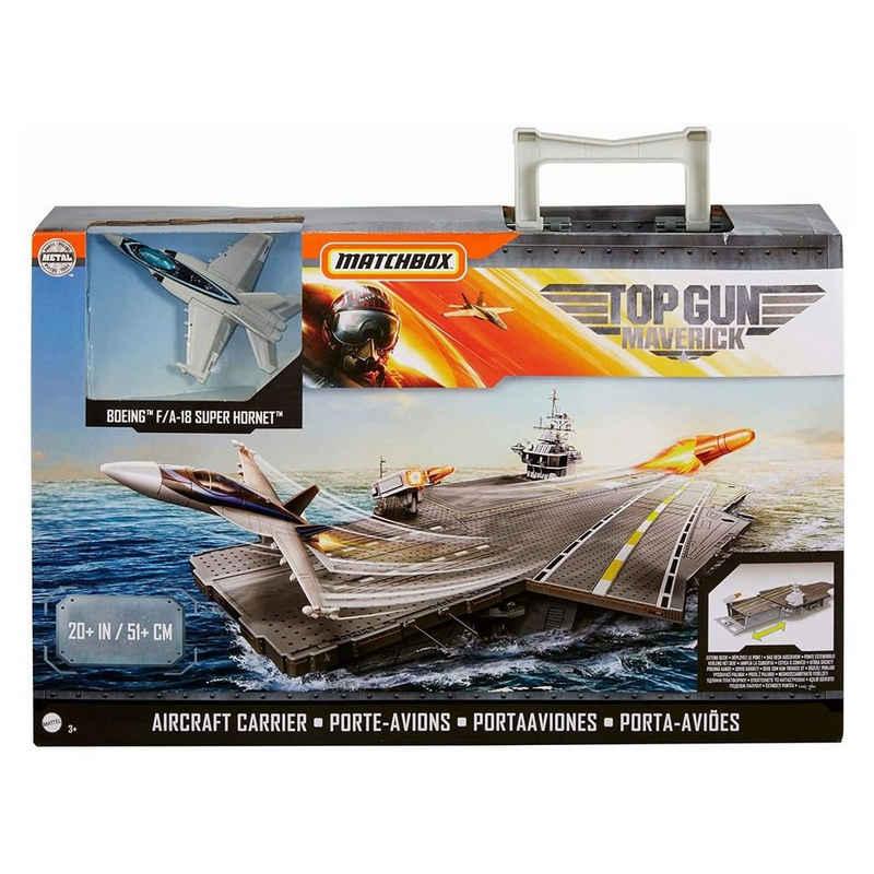 Mattel® Spielzeug-Flugzeug »Mattel GNN28 - Matchbox - Top Gun Maverick - Spielset, Flugzeugträger«