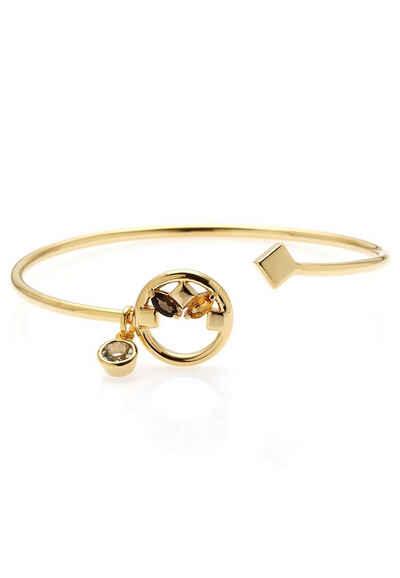 Carolin Stone Jewellery Armreif »Heroic - Armreif Rauchquarz, Amethyst«, handgefertigt