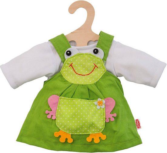 Heless Puppenkleidung »Froschkleid 2tlg Gr. 28-35 cm, Puppenkleidung«