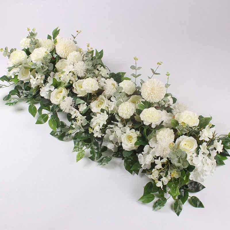 Kunstblume »50cm Künstliche Rosenrebe Seide Blumengirlande Hängekörbe Pflanzen Zuhause Draussen Hochzeitsbogen Garten Wanddekoration«, Favson