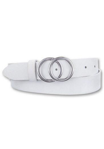BERND GÖTZ Koppelgürtel mit stylischer Doppelringschließe
