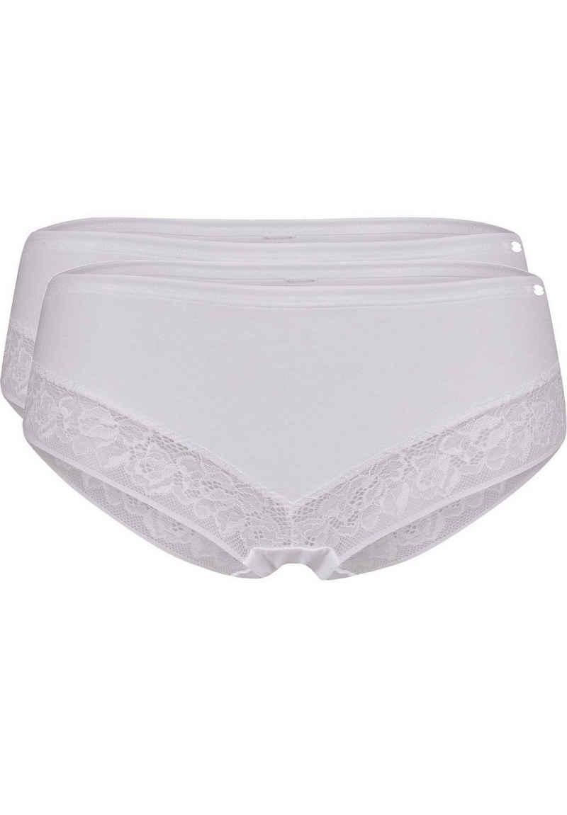 Skiny Panty »Damen Pants, 2er Pack - Shorts, Smart Cotton,«