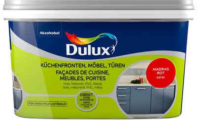 Dulux Holzlack »Fresh Up«, für Küchen, Möbel und Türen, madras rot, 2 l
