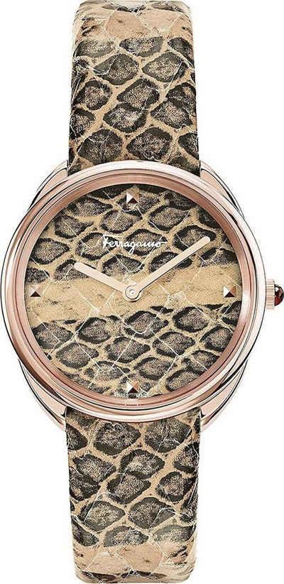 Salvatore Ferragamo Schweizer Uhr »Python«