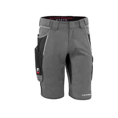 Grizzlyskin Workwear Arbeitsshorts »IRON« (1-tlg) Arbeitsshorts mit 13 Taschen - Atmungsaktiv - Blickdicht - Pflegeleicht - Strapazierfähig