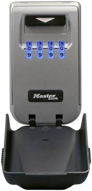 MASTER LOCK Schlüsseltresor »Select Access«, Mittelgroßes Schlüsselfach, mit beleuchteten Einstellrädern