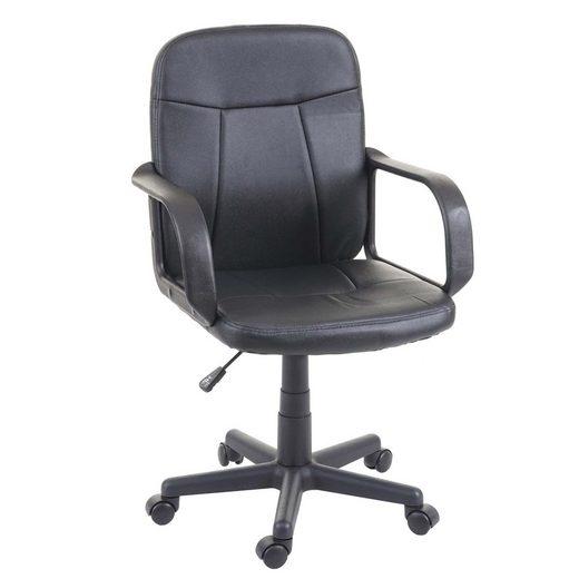 MCW Schreibtischstuhl »MCW-G24« Sitzhöhe stufenlos verstellbar, 5 Universalrollen, Ergonomischer Sitzkomfort