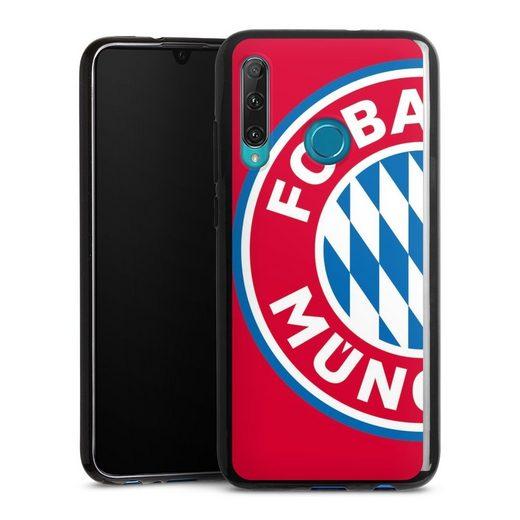 DeinDesign Handyhülle »großes FCB Logo Rot« OnePlus 8, Hülle FC Bayern München Offizielles Lizenzprodukt FCB