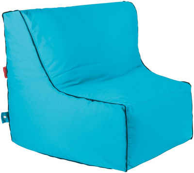 OUTBAG Sitzsack »Piece wzipper Plus«, wetterfest, für den Außenbereich, BxT: 90x115 cm