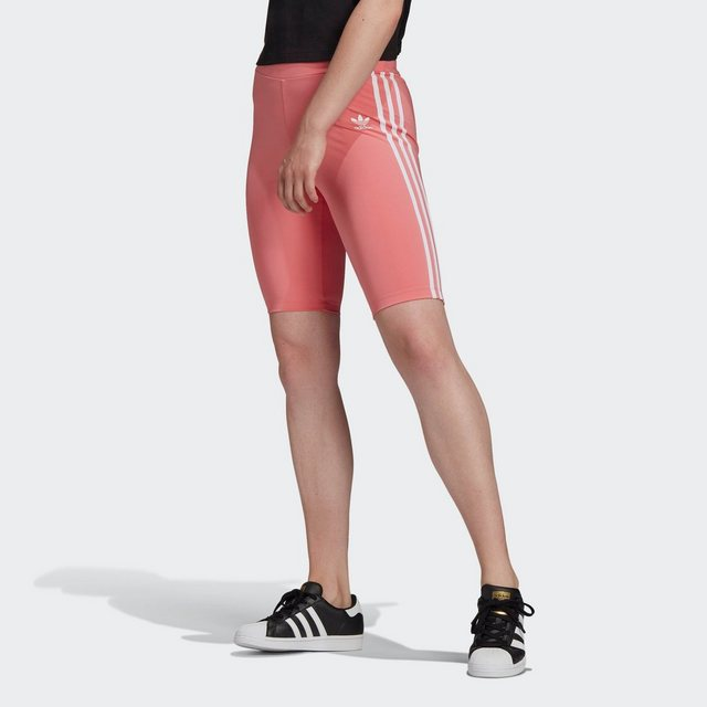 Hosen - adidas Originals Leggings »ADICOLOR CLASSICS PRIMEBLUE HIGH WAISTED« › rosa  - Onlineshop OTTO