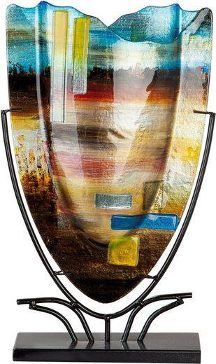 GILDE GLAS art Dekovase »Campo« (1 Stück), aus Glas, Höhe ca. 48 cm
