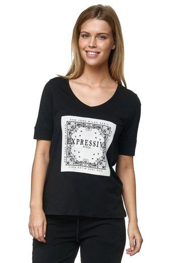 Decay T-Shirt mit Strasssteinen