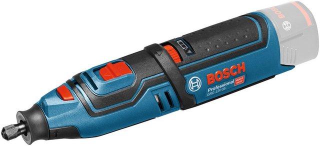 Bosch Professional Akku-Multifunktionswerkzeug GRO 12V-35 V-LI solo , 12 V, Set, 12 V, ohne Akku