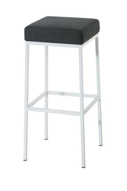 Sessel und Hocker - CLP Barhocker »Montreal 80 Stoff« (Set, 2er), gepolsterte Sitzfläche und Gestell mit Fußstütze  - Onlineshop OTTO