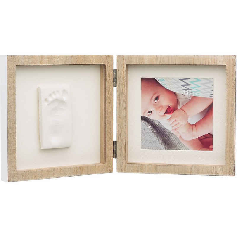 BABY ART Bilderrahmen »Quadratischer Bilderrahmen My Baby Style, Wooden«