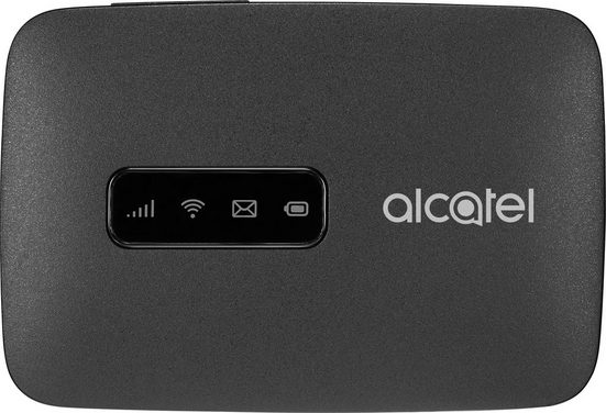 Alcatel »MW40V LINKZONE« WLAN-Router, für mobiles Internet (CAT4 - 150 Mbit/s Downlaod - 50 Mbit/s Upload), Wifi Hotspot, schwarz