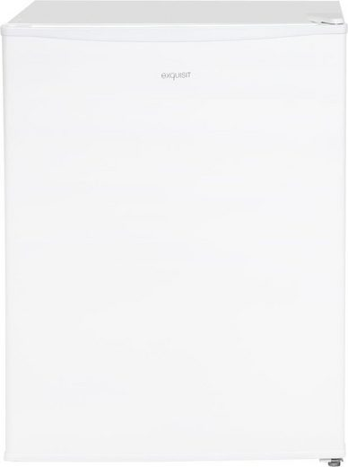 exquisit Table Top Kühlschrank KB 60-15 A++, 62 cm hoch, 47 cm breit