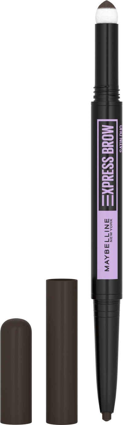 MAYBELLINE NEW YORK Augenbrauen-Stift »Maybelline New York Express Brow Satin Duo«