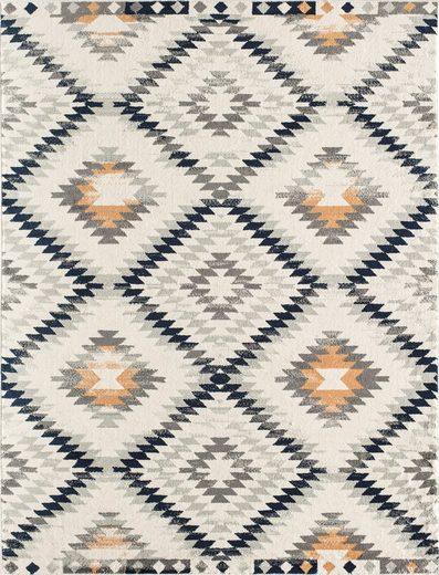 Teppich »Bodrum Kilim«, CosmoLiving by Cosmopolitan, rechteckig, Höhe 8 mm, Kelim Optik