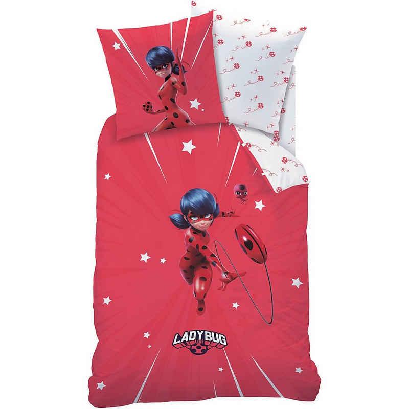 Bettwäsche »Bettwäsche Miraculous Ladybug Sprint, Renforcé,«, CTI