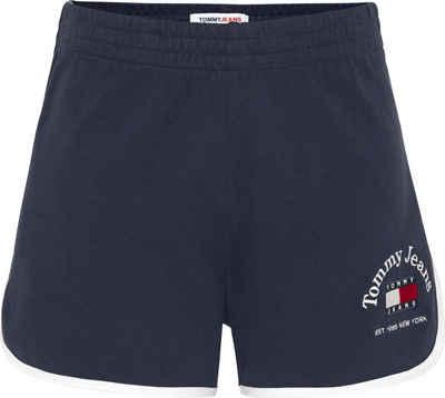 Tommy Jeans Shorts »TJW Timeless Tommy 1 Knit Short« mit abgerundetem Saum & Tommy Jeans Logo-Schriftzug