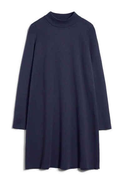 Armedangels Midikleid »FRIADAA Damen Kleid aus Bio-Baumwolle Loose Fit« (1-tlg)