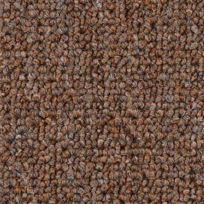 Teppichboden »Schlinge gemustert«, Bodenmeister, rechteckig, Höhe 6 mm, Meterware, Breite 400 cm, uni, Wunschmaß