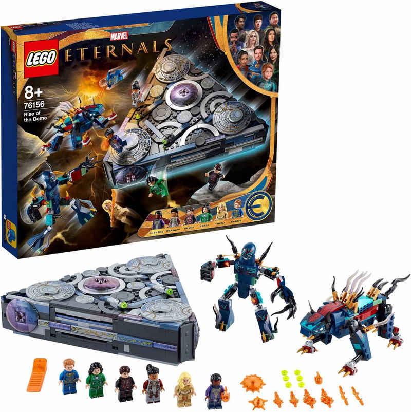 LEGO® Konstruktionsspielsteine »Aufstieg des Domo (76156), LEGO® Marvel Super Heroes«, (1040 St), Made in Europe