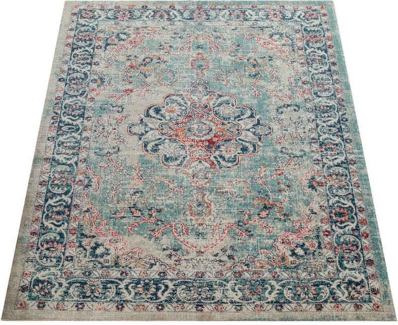 Teppich »Mabella 491«, Paco Home, rechteckig, Höhe 5 mm, In- und Outdoor geeignet, Wohnzimmer