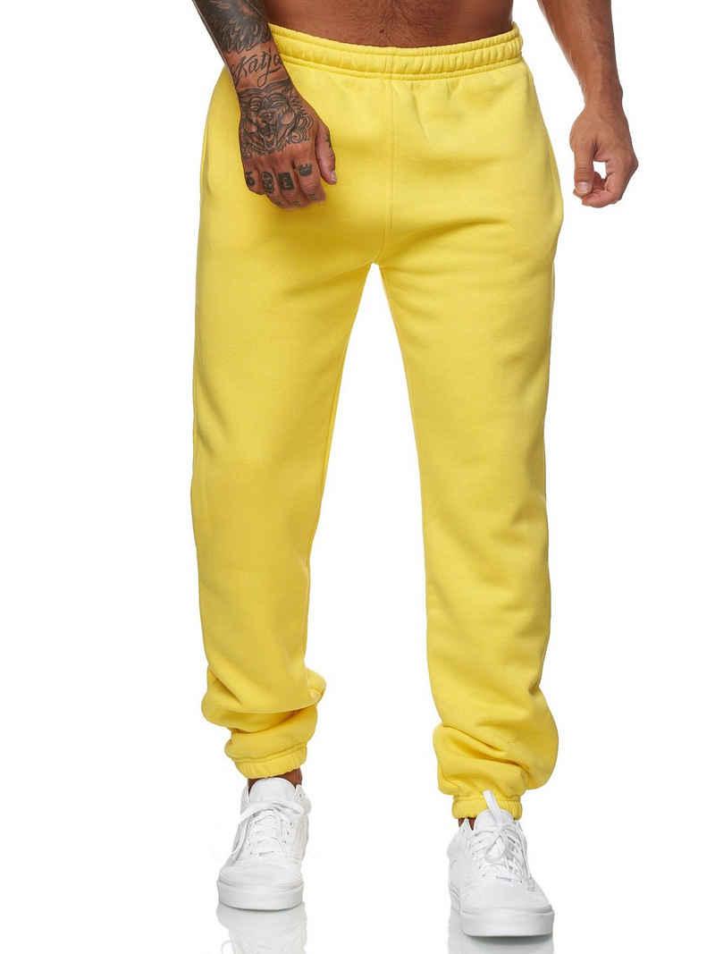 Koburas Jogginghose »KO-13115« (Sporthose Trainingshose Sweatpants, 1-tlg., im modischem Design) Fitness Freizeit Casual