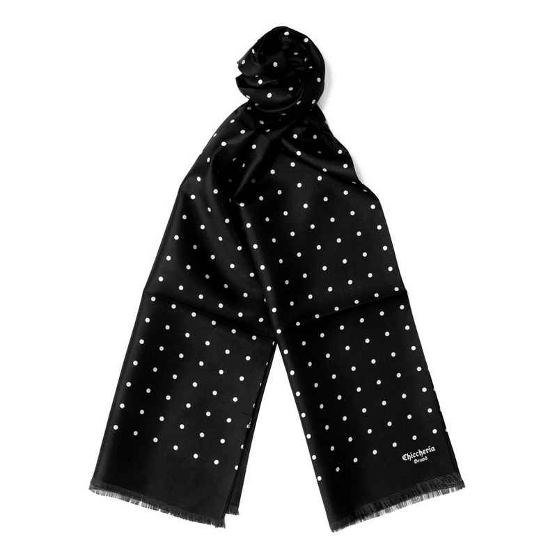 Chiccheria Brand Seidenschal »BIG-DOTS«, Made in Italy