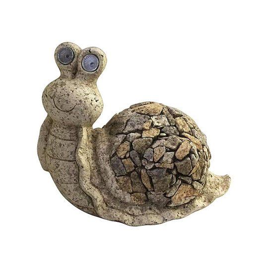 HTI-Line Dekofigur »Gartendeko Stone Schnecke« (1 Stück), Gartendeko