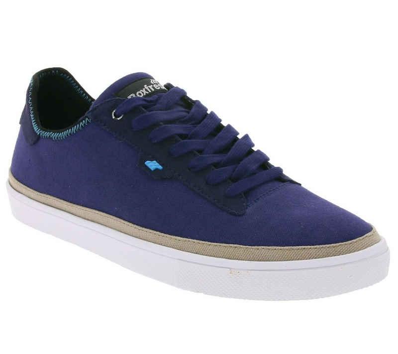 Boxfresh »Boxfresh Schuhe Low-Top stylische Herren Sneaker Turn-Schuhe Blau« Sneaker