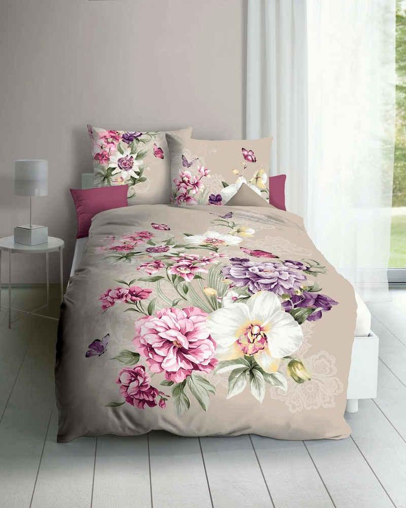 Bettwäsche »Euphoria«, Kaeppel, mit wundervollen Blumen