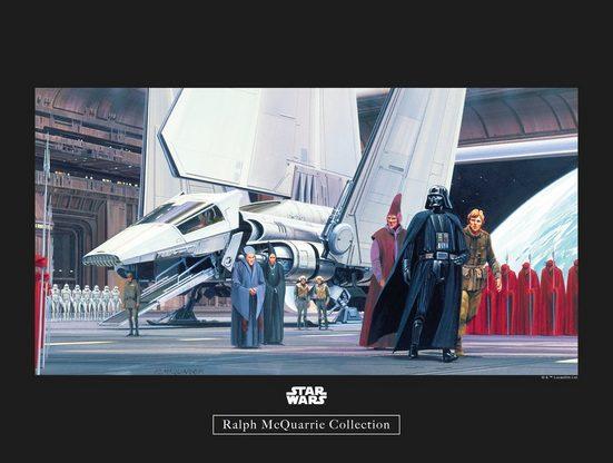 Komar Poster »Star Wars Classic RMQ Death Star Shuttle Dock«, Star Wars
