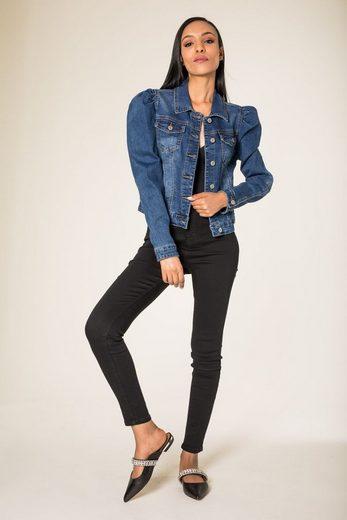 Simply Chic Jeansjacke »3318« Damen Denim Jeansjacke Blazer TRENDY