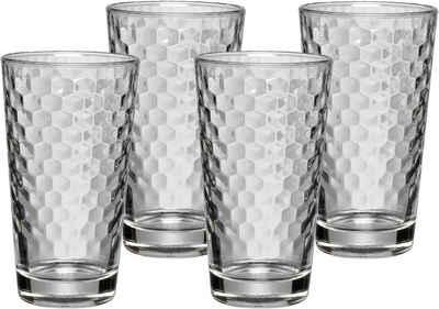 WMF Gläser-Set »CoffeeTime«, Glas, Hitzebeständiges Glas, 4-teilig