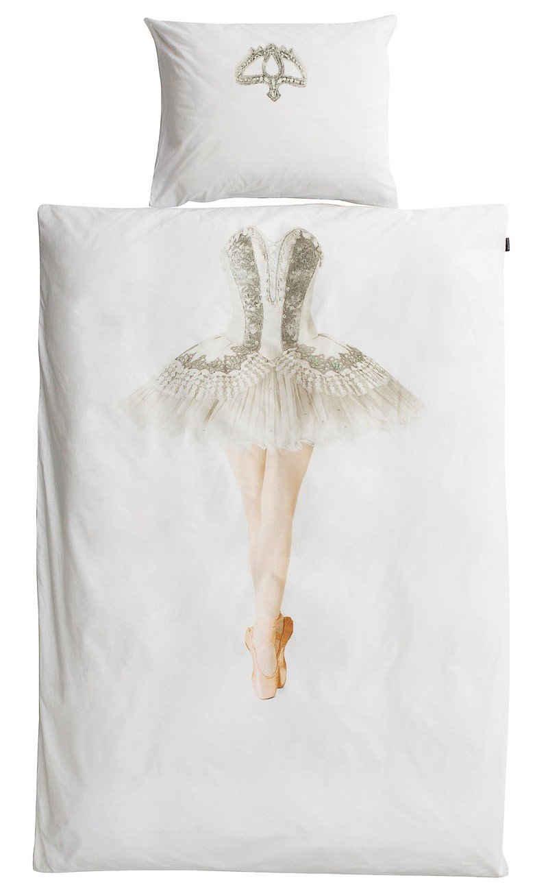 Bettwäsche »Snurk Bettwäsche Ballerina 135 x 200 cm 100% Baumwolle«, Snurk