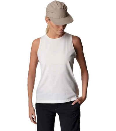 Houdini T-Shirt »HOUDINI Big Up Tank-Top lockeres Damen Freizeit-Shirt für jeden Tag Trend-Shirt Weiß«