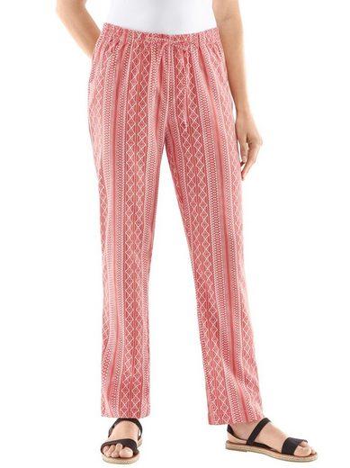 Classic Basics Hose mit Zier-Bindebändern