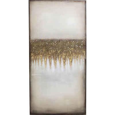 KARE Dekoobjekt »Acrylbild Abstract Fields 200x100«
