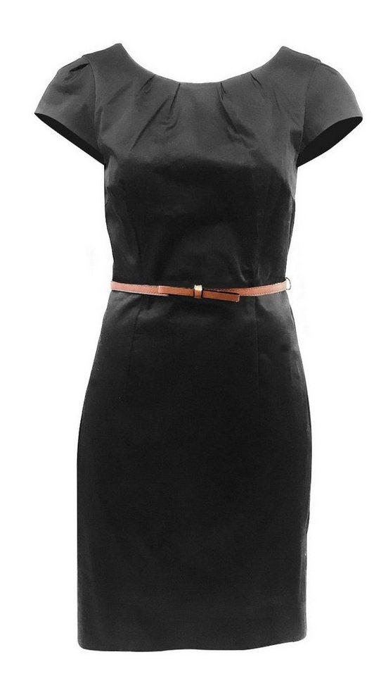 vero moda -  Etuikleid  Damen Etuikleid Kaya mit Gürtel Kurzkleid Business Gr. 34 Mini Kleid Abendkleid