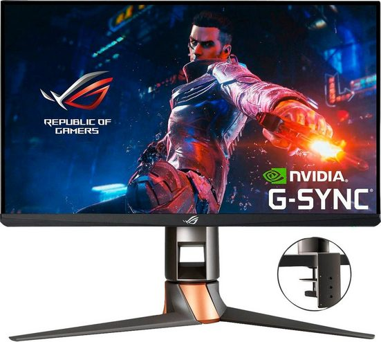 "Asus PG259QNR Gaming-Monitor (62,2 cm/24,5 "", 1920 x 1080 Pixel, Full HD, 1 ms Reaktionszeit, 360 Hz, IPS)"