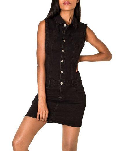 Nina Carter Jumpsuit »3086« Damen Jeans Kleid