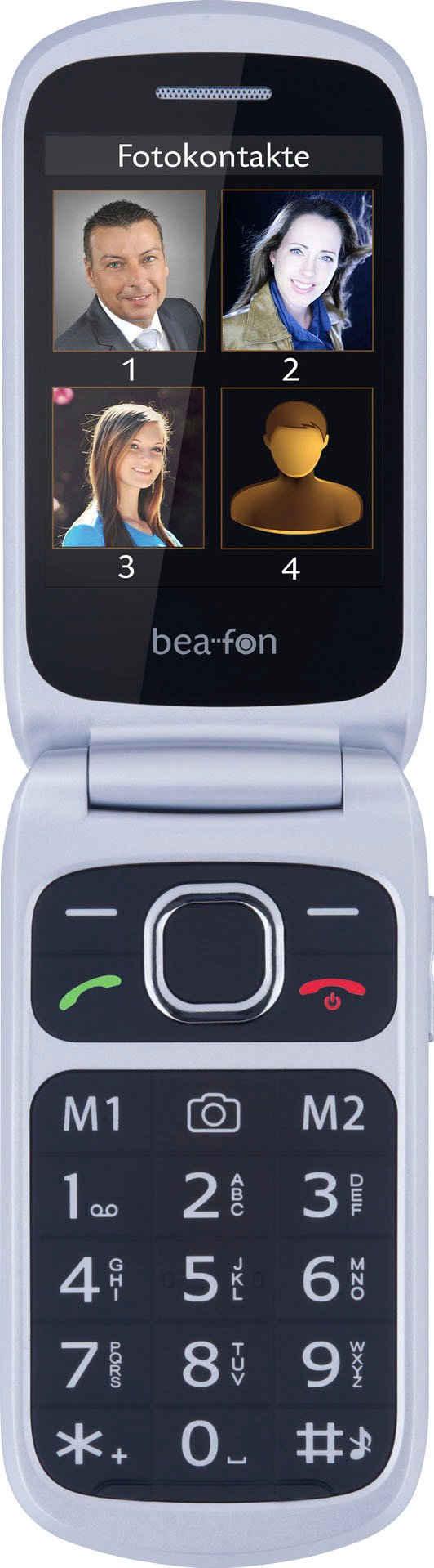 Beafon SL630 Klapphandy (7,12 cm/2,8 Zoll, 1 MP Kamera)