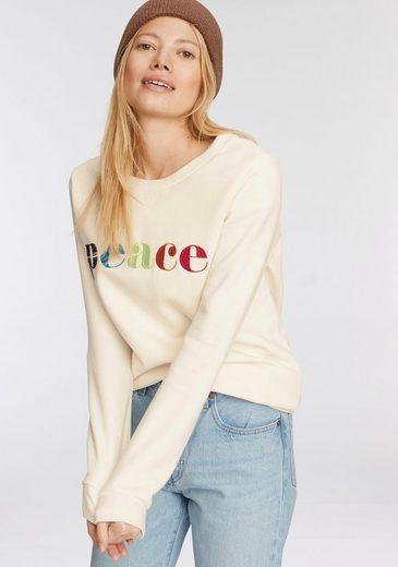 AJC Sweatshirt mit Mulitcolour-Statement-Stickerei