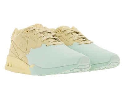 Le Coq Sportif »Le Coq Sportif Esthete Echtleder Sneaker stylische Damen Turnschuhe mit Farbklecks Trend-Schuhe Beige« Sneaker