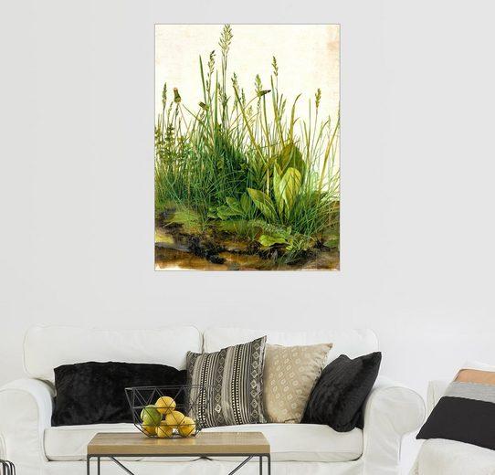Posterlounge Wandbild, Das große Rasenstück