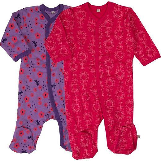 pippi Schlafanzug »Schlafanzug 2er Pack für Mädchen«
