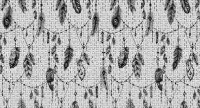 Architects Paper Fototapete »Atelier 47 Feather Puzzle 3«, glatt, mehrfarbig, (5 St)